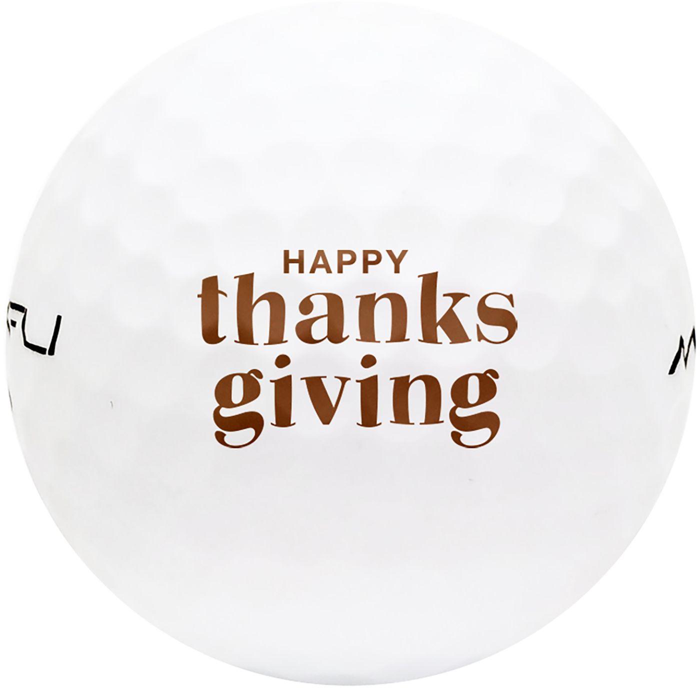 Maxfli SoftFli Thanksgiving Novelty Matte Golf Balls