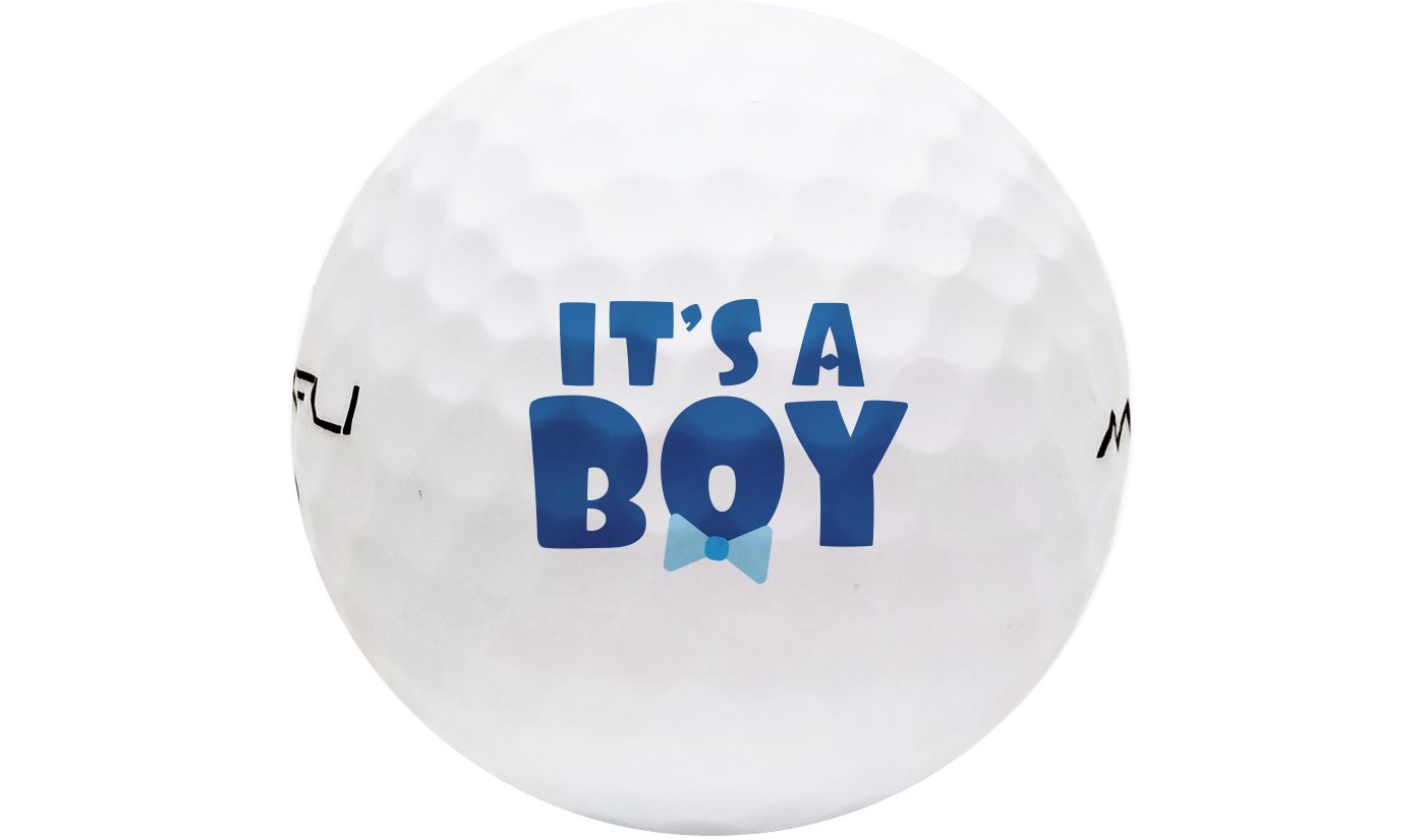 Maxfli SoftFli Novelty Matte Golf Balls – White