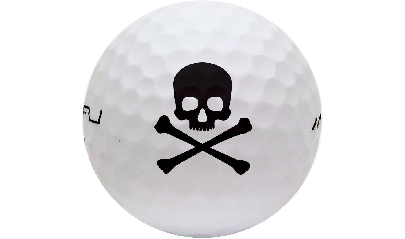 Maxfli Softli Novelty Matte Golf Balls - White
