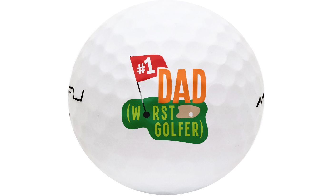 Maxfli SoftFli Novelty Gloss Golf Balls - White