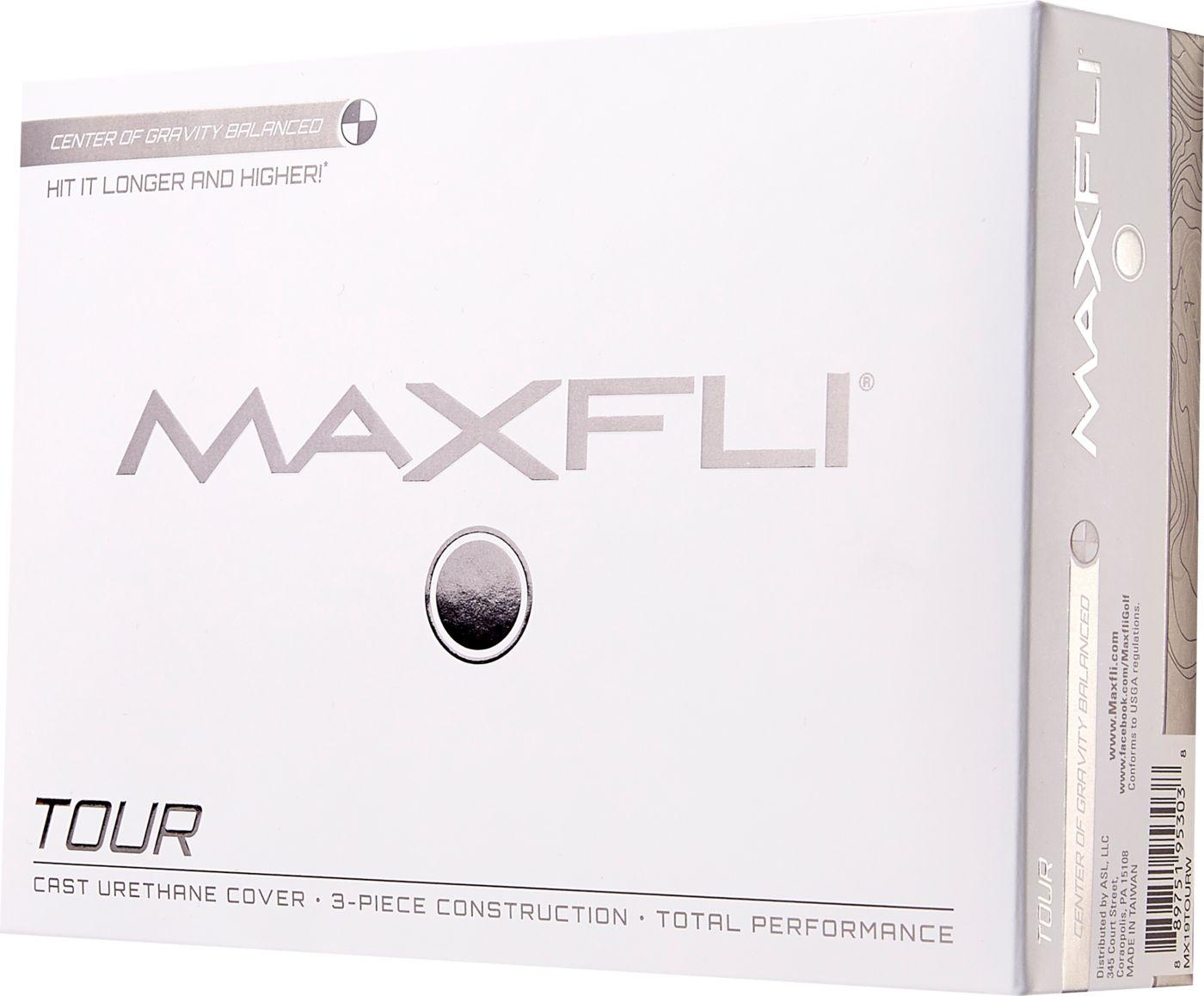 Maxfli 2019 Tour Personalized Golf Balls
