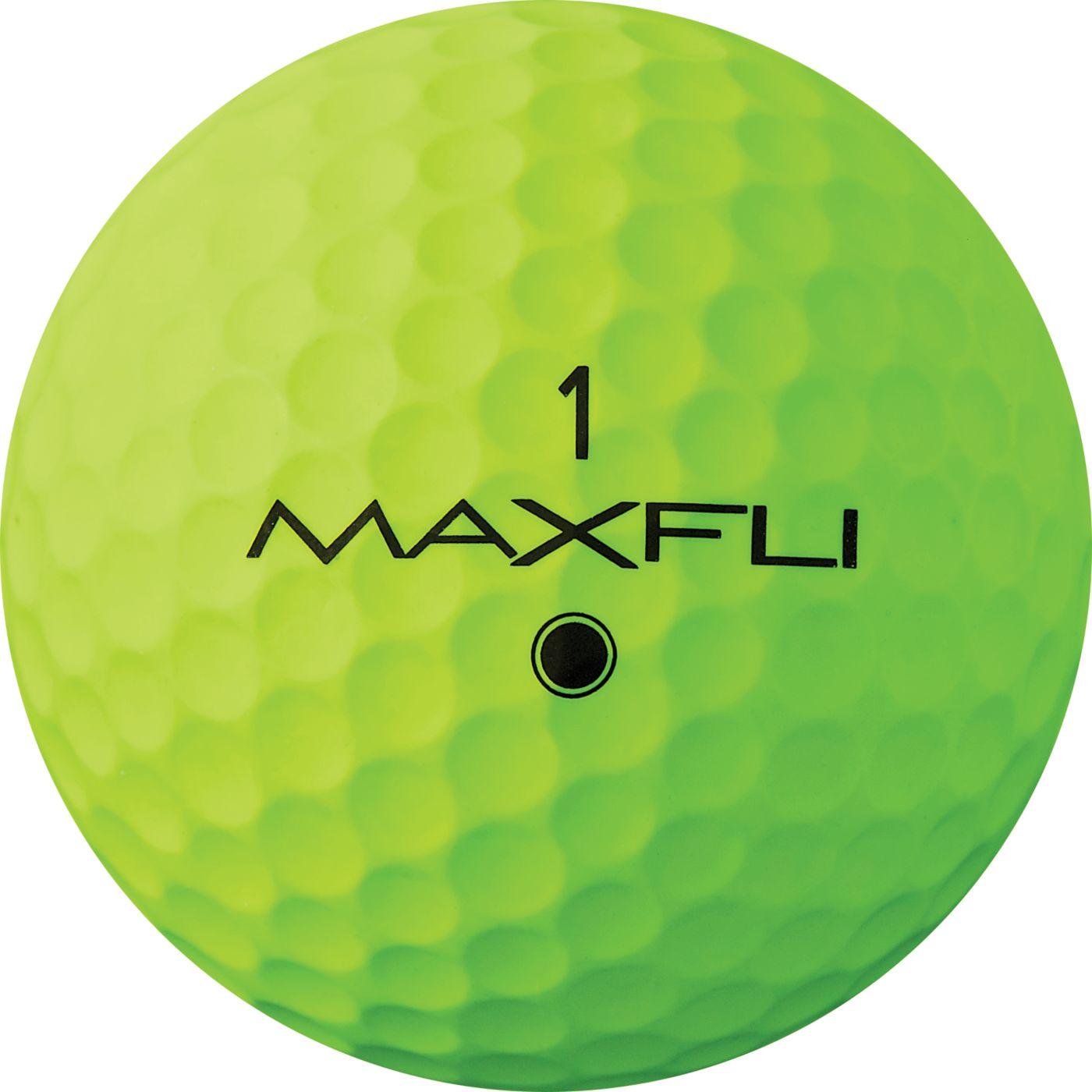 Maxfli 2019 Tour Matte Green Personalized Golf Balls
