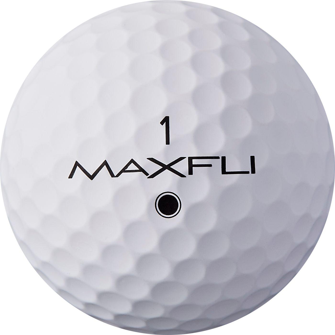 Maxfli 2019 Tour Matte White Personalized Golf Balls