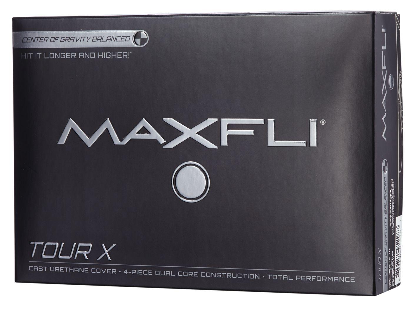 Maxfli 2019 Tour X Personalized Golf Balls