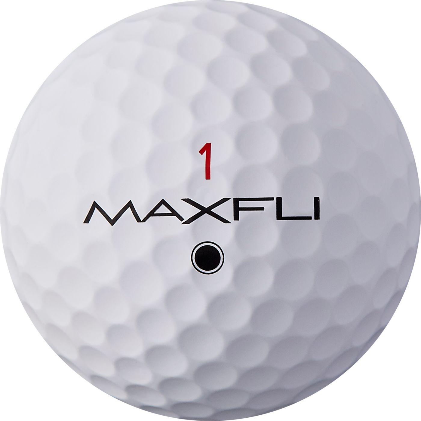 Maxfli 2019 Tour X Matte White Personalized Golf Balls