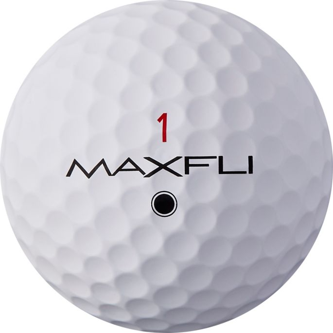 Maxfli 2019 Tour X Matte White Personalized Golf Balls Golf Galaxy