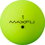 Maxfli StraightFli Matte Green Personalized Golf Balls