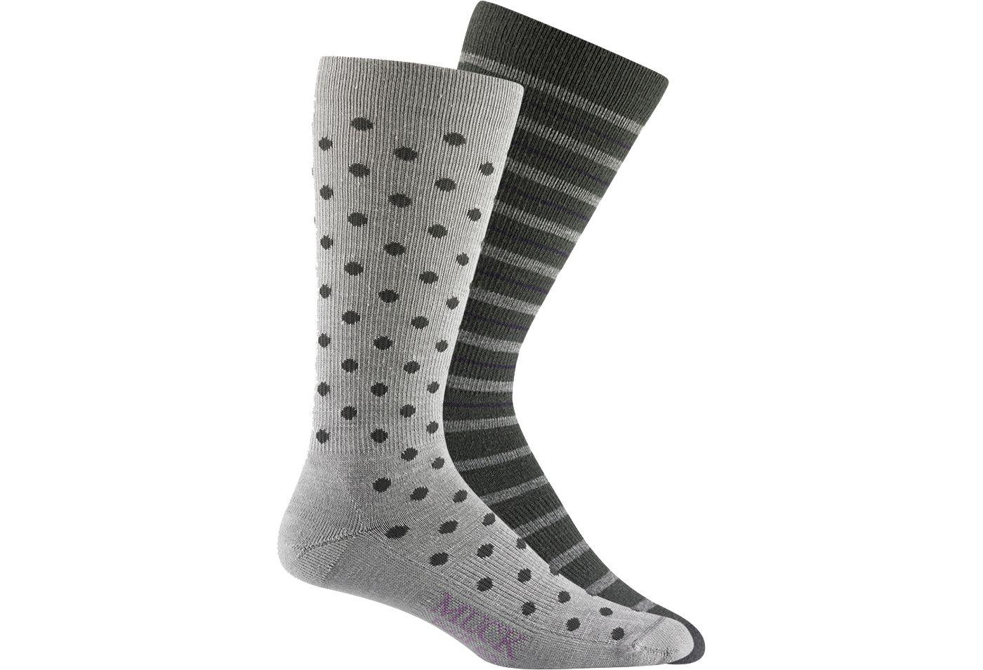 Muck's Women's Serena Crew Socks 2 Pack
