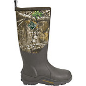 Muck Boots Men's Woody Max Realtree Edge Rubber Waterproof Hunting Boots