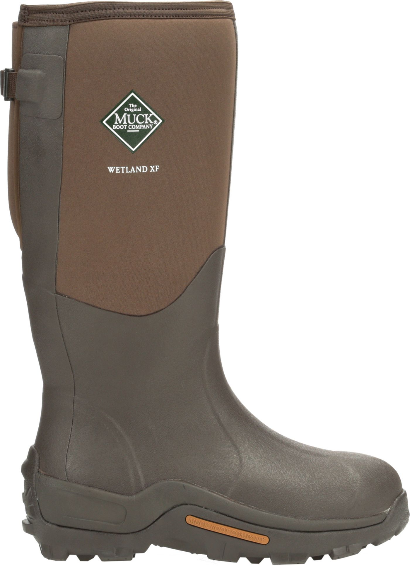 Muck Boots Men's Wetland Wide Calf Rubber Hunting Boots