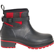 Muck Boots Women's Liberty Ankle Plaid Rubber Boots