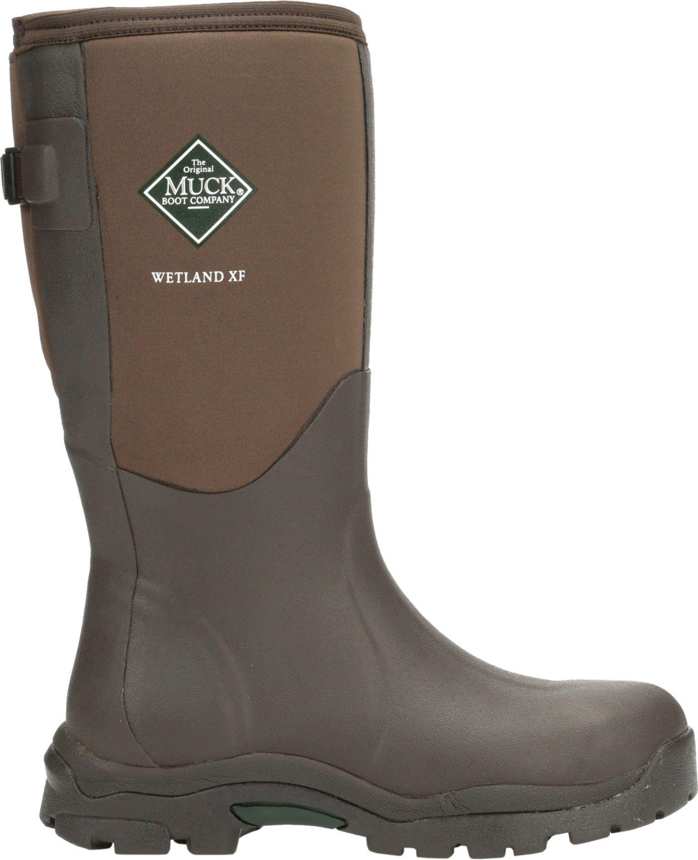 Muck Boots Women's Wetland Wide Calf Rubber Hunting Boots