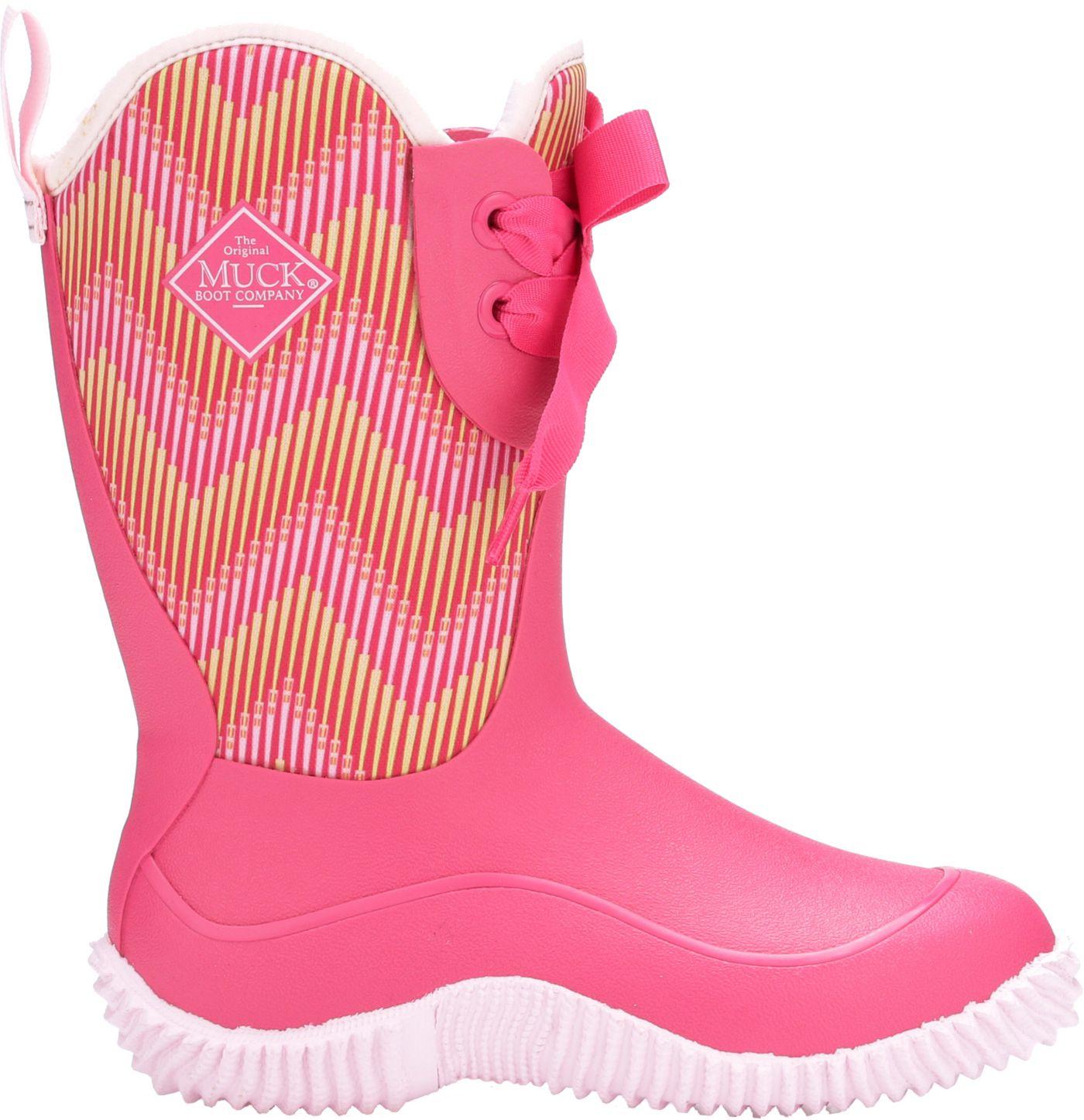 Muck Boots Kids' Hale All-Season Waterproof Rubber Boots