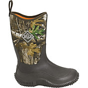 Muck Boots Kids' Hale Realtree Edge Rubber Hunting Boots