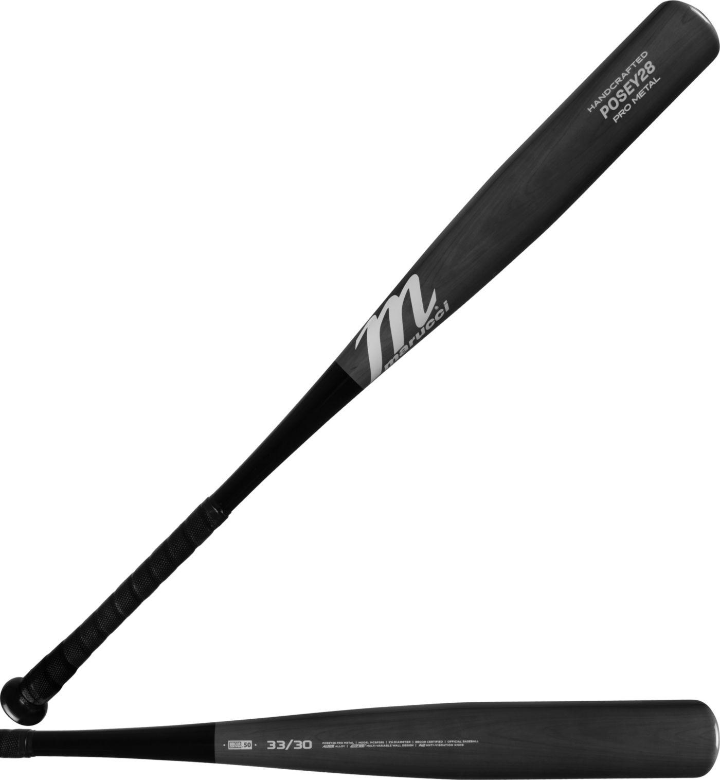 Marucci POSEY28 Pro Metal Smoke BBCOR Bat 2019 (-3)