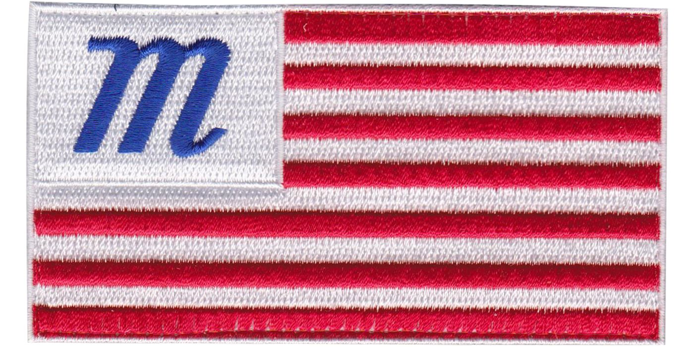 Marucci USA Flag Bag Patch