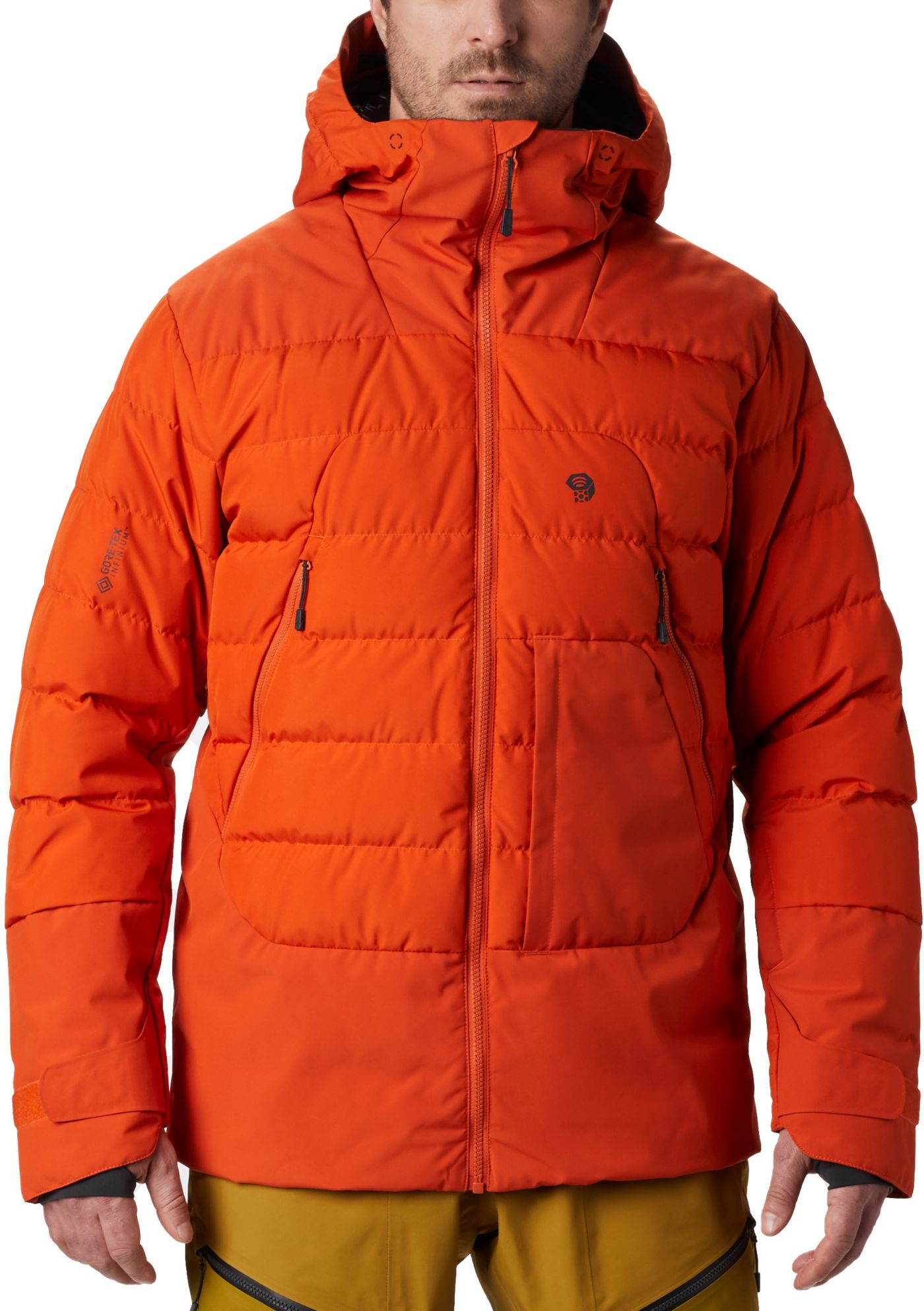 Mountain Hardwear Men's Direct North Gore-Tex Windstopper Down Jacket