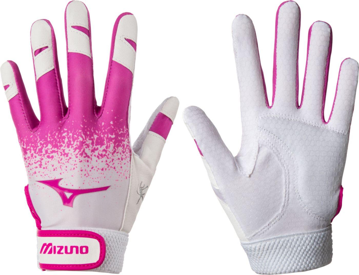 Mizuno Girls' Jennie Finch Fastpitch Batting Gloves 2020
