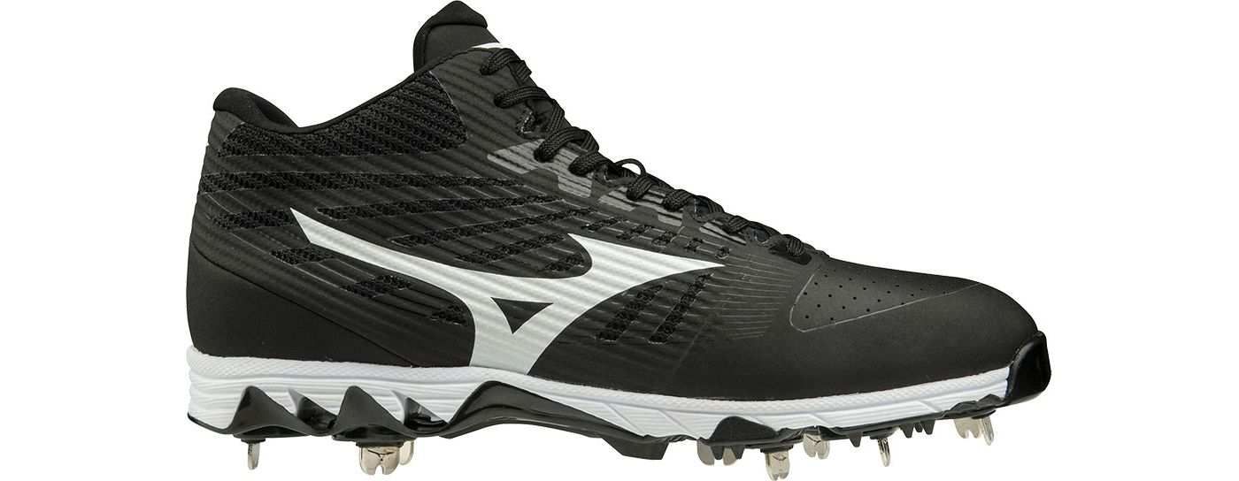 Mizuno Men's Ambition Mid Metal Baseball Cleats