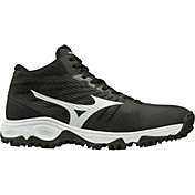 Mizuno Men's Ambition Mid Turf Baseball Cleats
