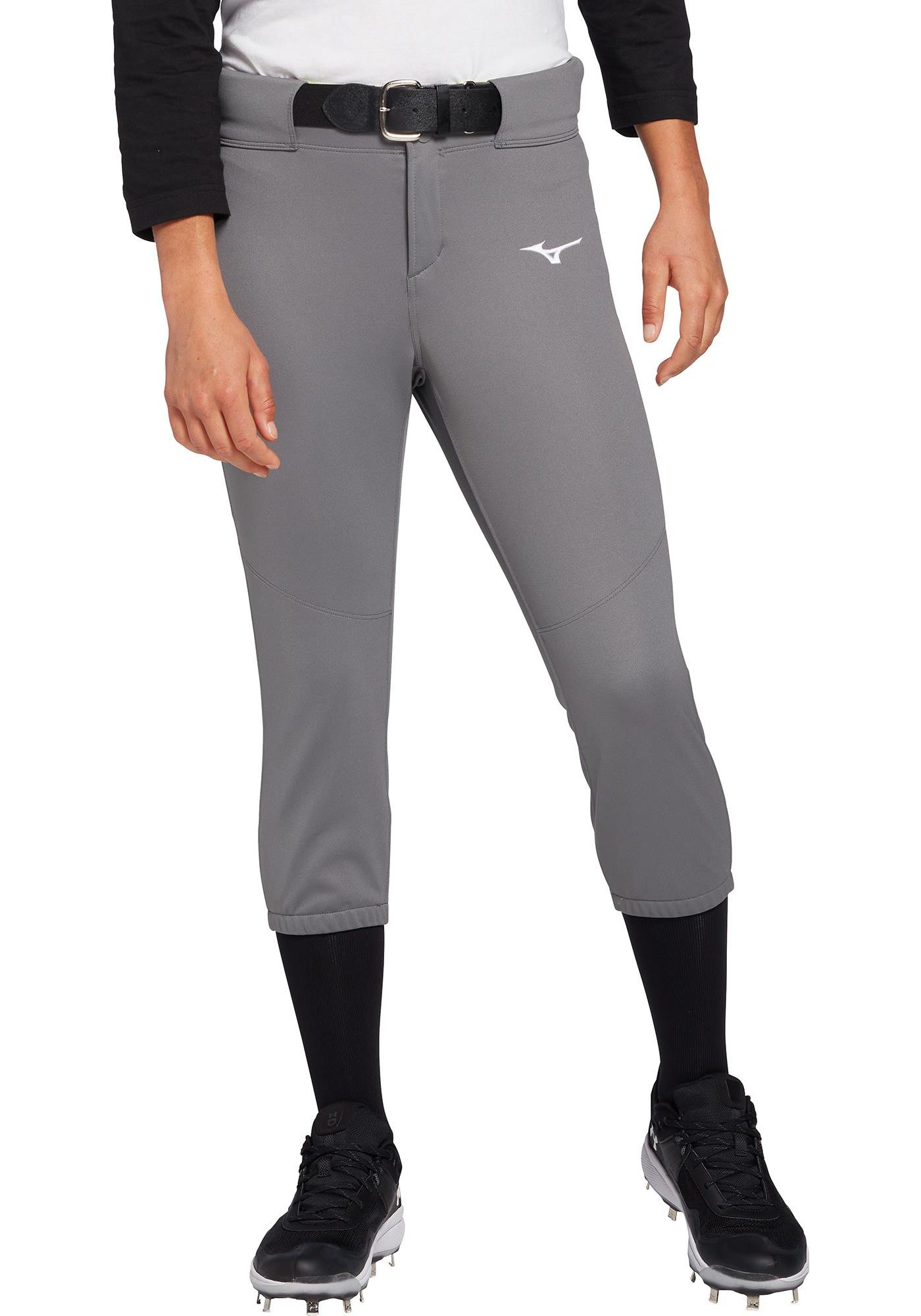 Mizuno Women's Belted Stretch Softball Pants
