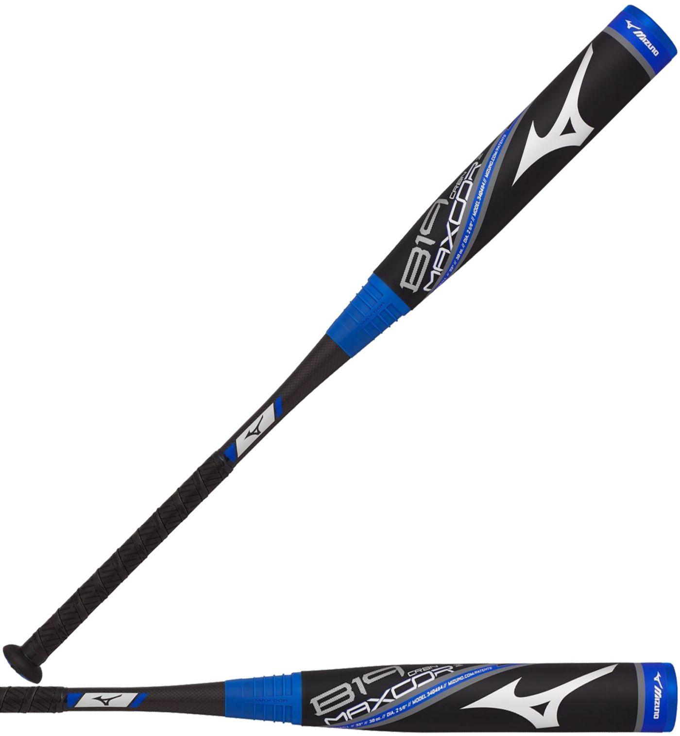 Mizuno B19 MAXCOR Carbon USA Youth Bat 2019 (-5)