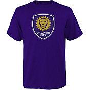 MLS Youth Orlando City Logo Purple T-Shirt