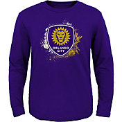 MLS Youth Orlando City Splashin' Purple Long Sleeve Shirt