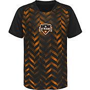 MLS Youth Houston Dynamo Sublimated Orange Jersey