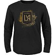 MLS Youth Los Angeles FC Splashin' Black Long Sleeve Shirt