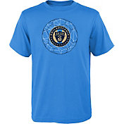 MLS Youth Philadelphia Union Quartz Blue T-Shirt
