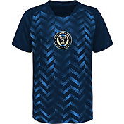 MLS Youth Philadelphia Union Sublimated Navy Jersey