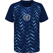 MLS Youth New York City FC Sublimated Blue Jersey