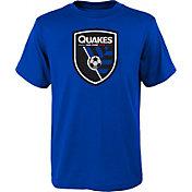 MLS Youth San Jose Earthquakes Logo Royal T-Shirt