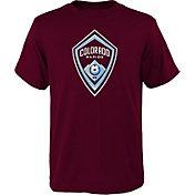 MLS Youth Colorado Rapids Logo Maroon T-Shirt