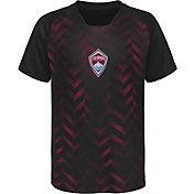 MLS Youth Colorado Rapids Sublimated Maroon Jersey