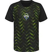 MLS Youth Seattle Sounders Sublimated Green Jersey
