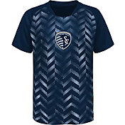 MLS Youth Sporting Kansas City Sublimated Blue Jersey