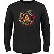 MLS Youth Atlanta United Splashin' Black Long Sleeve Shirt