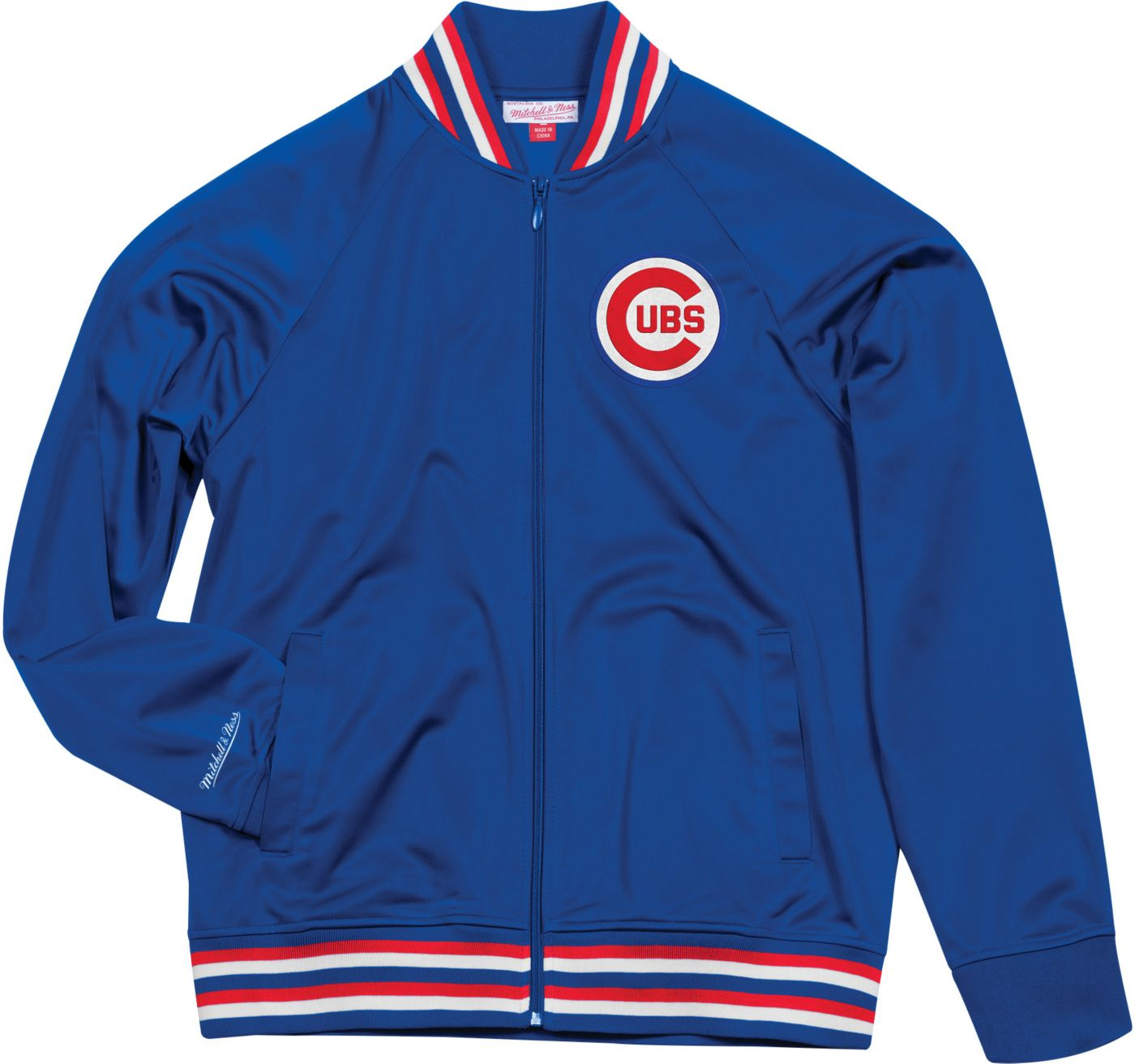 Mitchell & Ness Men's Chicago Cubs Track Jacket