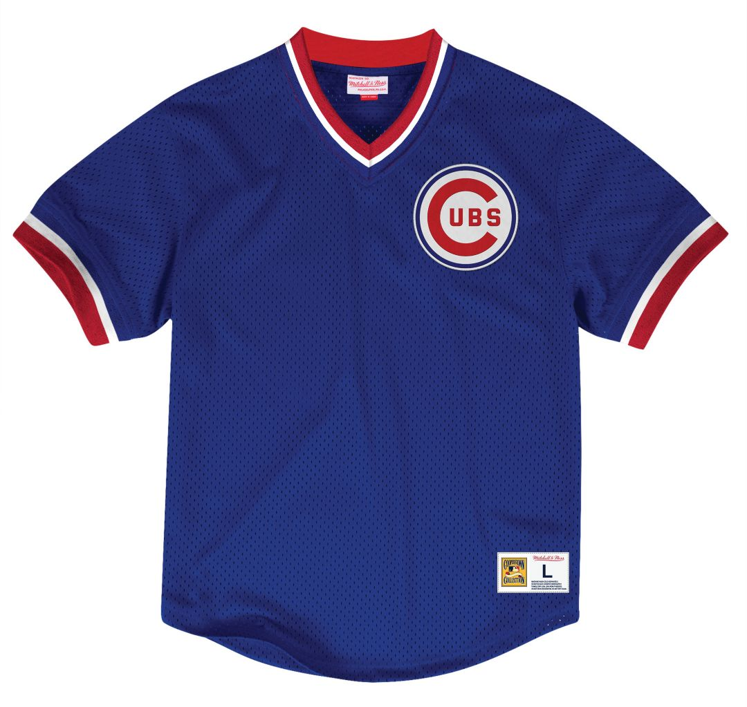 new styles 3ce8f bc029 Mitchell & Ness Men's Replica Chicago Cubs Royal Cooperstown Jersey