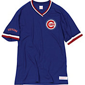 Mitchell & Ness Men's Chicago Cubs V-Neck Shirt