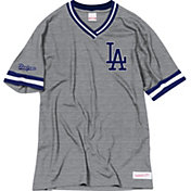 Mitchell & Ness Men's Los Angeles Dodgers V-Neck Shirt
