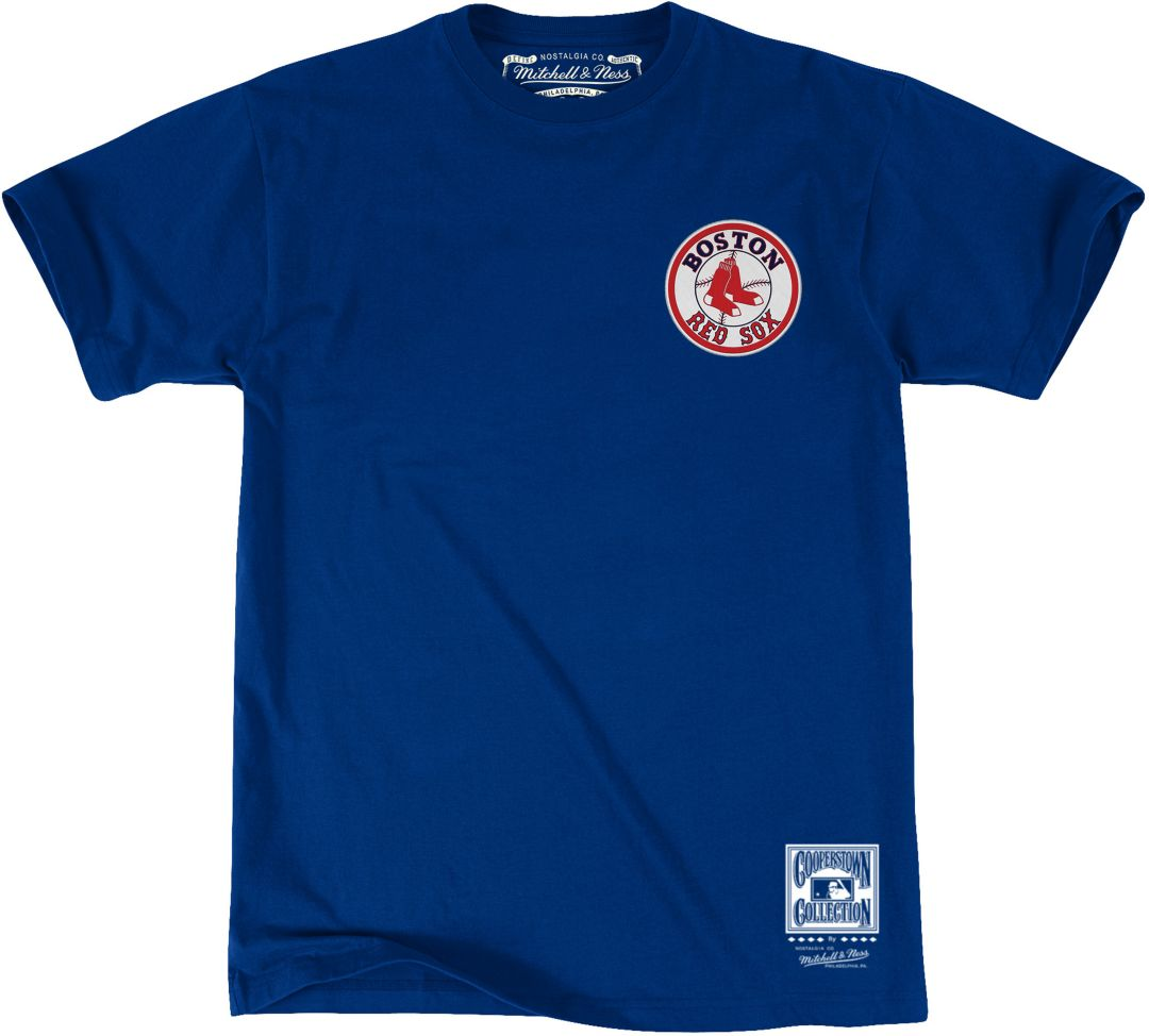 watch 86788 55a0d Mitchell & Ness Men's Boston Red Sox Retro T-Shirt