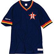 Mitchell & Ness Men's Houston Astros V-Neck Shirt