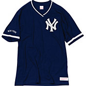 Mitchell & Ness Men's New York Yankees V-Neck Shirt
