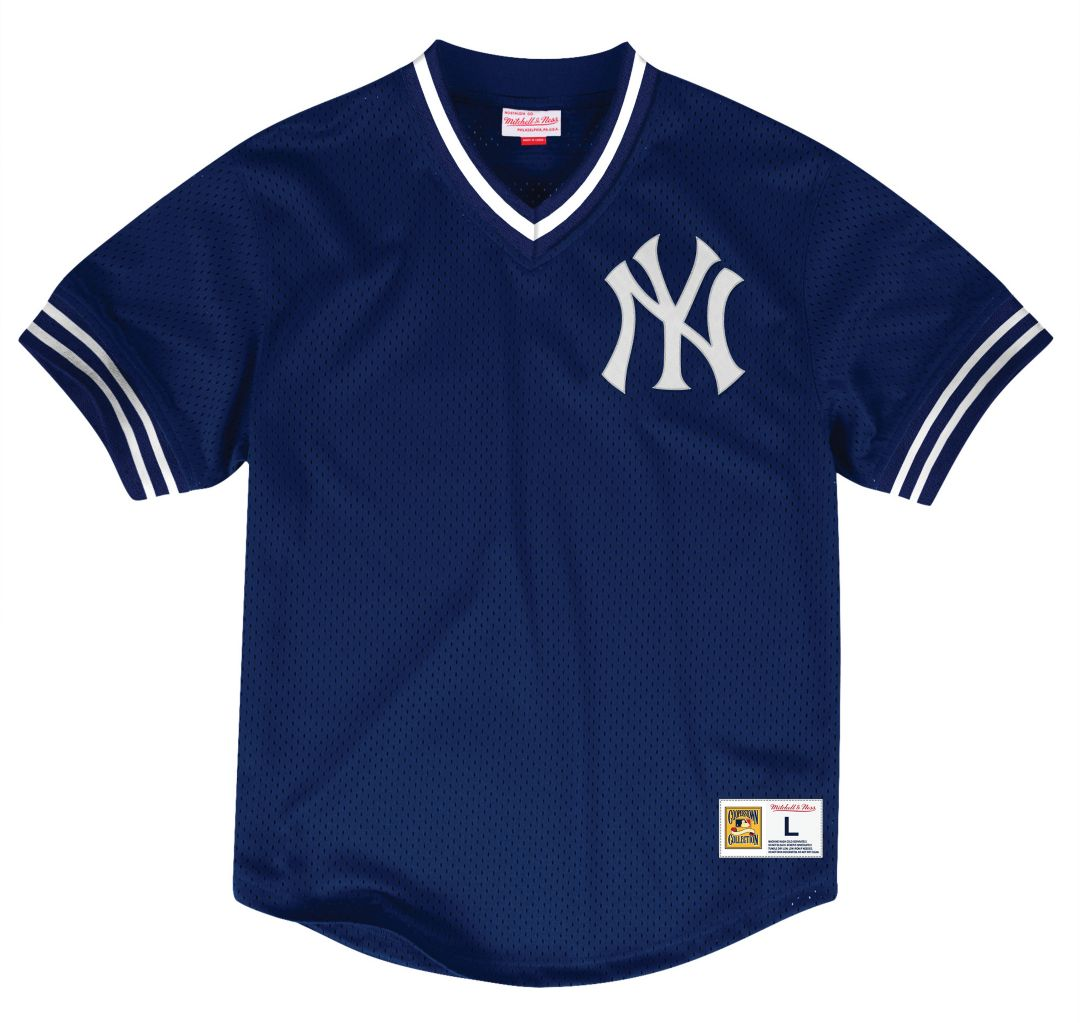 timeless design 7fee0 64378 Mitchell & Ness Men's Replica New York Yankees White Cooperstown Jersey