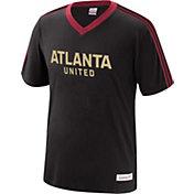 Mitchell & Ness Men's Atlanta United Overtime Black V-Neck T-Shirt
