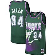 Mitchell & Ness Men's Milwaukee Bucks Ray Allen #34 Swingman Jersey