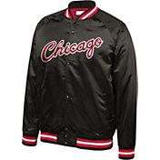 Mitchell & Ness Men's Chicago Bulls Satin Jacket